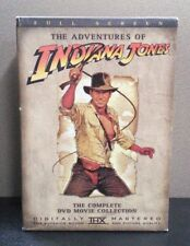 Adventures of Indiana Jones: The Complete DVD Movie Collection  FS    LIKE NEW