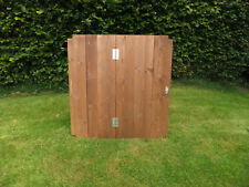 Classic Wooden Compost Bin Lid Gardening Works Timber Wood Composter
