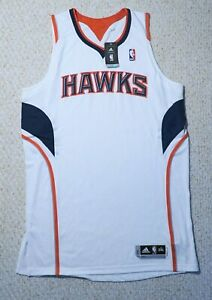 Atlanta Hawks NBA adidas White authentic On-court Jersey Men's Size(2XL-Tall)