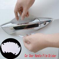 4× Car Auto Door Handle Films Sticker Protector Anti Scratch Protect Accessories