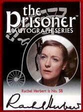 THE PRISONER Volume 1 - RACHEL HERBERT Autograph Card - Cards Inc 2002 - PA7