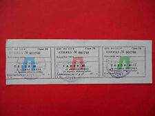 RUSSIA USSR Soviet Army canteen, coupon for Breakfast lunch and dinner.