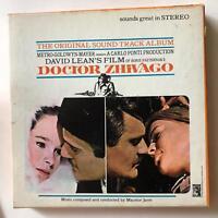DOCTOR ZHIVAGO Movie Soundtrack STC4343 Reel To Reel 7 1/2 IPS Insert