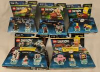 Lego DIMENSIONS Gimli LOTR Homer Simpson Bart Wicked Witch Chell NEW Lot of 5