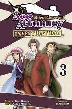Miles Edgeworth: Ace Attorney Investigations 3: By Kenji Kuroda