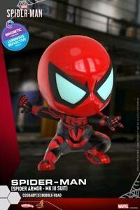 Spider-Man - Spider Armor Mark III Suit UV Cosbaby-HOTCOSB772-HOT TOYS
