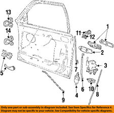 FORD OEM-Outside Exterior Door Handle Right 6W7Z5422404A