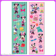 Minnie Mouse Stickers - Sealed Pack/8 Sheets -Favours - Party Supplies - Daisy