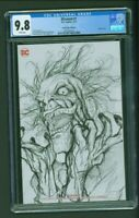 DCeased # 1 CGC 9.8 Comics Elite Edition B John Giang Sketch Cover Variant COA