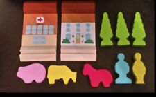 Wooden Train Set Accessories Trees People FREE P&P
