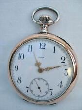 Reloj de bolsillo buen caballero de colección de Plata Maciza por Omega.