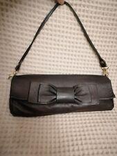 Abaco Paris Clutch Bag black lumbskin