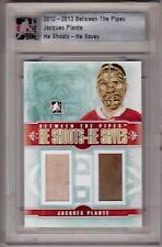 JACQUES PLANTE 12/13 ITG Rookie Jersey HSHS #/20 SP Jersey & Pad Patch Canadiens