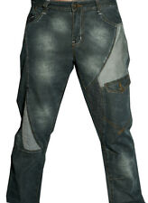 Mens unique Jeans Designer bar Denim Trousers communist crosshatch voi police 09