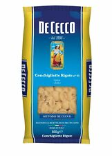 Pasta De Cecco 100 italienisch Conchigliette Rigate N. 51 Nudeln 500g
