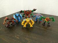 Gormiti Giochi Preziosi Figures Lot of 6 Plastic toys
