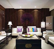 Realistic Wood Optic Paneling Timber Plank Wood Textured Wallpaper Sample KZ0705