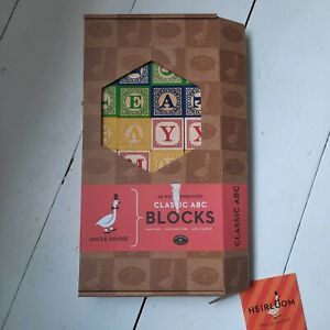 Classic Childrens ABC Wooden blocks