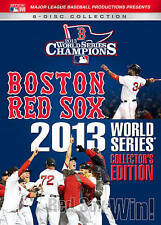 Boston Red Sox 2013 World Series Collectors Edition [DVD] NEW