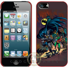 Apple iPhone 5/5S/i5S Licensed Shield Super Hero Batman™ and Robin Running
