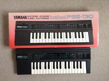 Vintage Teclado Electrónico Yamaha Pss 130-Caja y las instrucciones