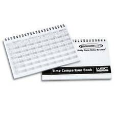 Rally Co Driver Time Comparison Book