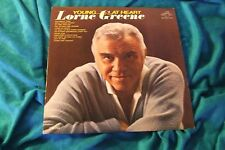 Young at Heart Lorne Greene LP 1963 LPM 2661