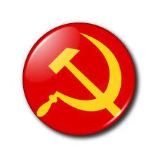 25mm Button Badge - Hammer and Sickle/Communist