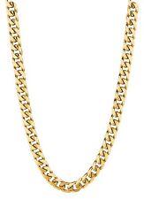 "14KT Gold Miami Cuban Curb Link 20"" 5.3mm 20 grams  chain/Necklace HMC150"