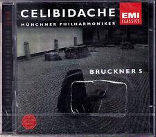 Sergiu CELIBIDACHE: BRUCKNER Symphony No.5 Live 1993 Münchner Philharmoniker 2CD