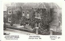 London Postcard - Ealing - Old Hanwell - Cherington House 1896  - U814