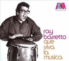 FREE US SHIP. on ANY 3+ CDs! ~Used,Good CD Ray Barretto: Que Viva La Musica