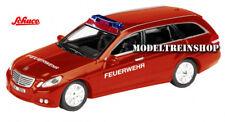 Schuco HO 1:87 25876 MB E-Klasse T-Modell Feuerwehr
