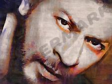 SHAH RUKH KHAN SRK INDIAN BOLLYWOOD ART PRINT POSTER OIL PAINTING LLFF0179