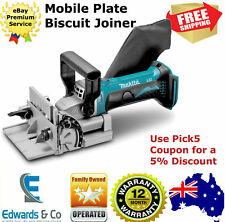 Cordless Plate Biscuit Joiner 18V Tool Blade Connector Makita Biscuit Joiner