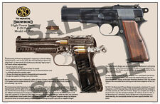 Browning Hp-35 Pistol Poster 11 x 17
