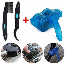 Bike Bicycle Chain Wheel Wash Easy Cleaner Brush Scrubber Cleaning Tools Kit
