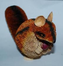 "Brushart Squirrel/Chipmunk Animal Figure bristle brush buri figurine 7x4x2"""