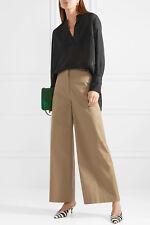 By Malene Birger Cobona Striped Organza Blouse Tunic 34 S NWT Net-A-Porter $395