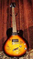 3 DOORS DOWN AUTOGRAPHED / SIGNED DE ARMOND GUITAR! SIGNED @ SUMMERFEST 2001