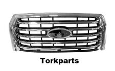 Brand New Chrome Grille Fits: Ford F150 2015 2016 2017 FO1200582