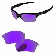 Lente Polarizada Reemplazo de plasma papaviva Púrpura Para Oakley Media Chaqueta 2.0 XL -