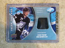 2009-10 UD ICE Fresh Threads VICTOR HEDMAN RC Jersey