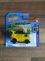 Hot Wheels Party Wagon Teenage Mutant Ninja Turtles TMNT 3/10 HW Screen time