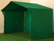 Marktzelt-Marktstand-Marktschirm-Pavillon-Zelt-Schirm 3x3 Meter grün