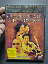 New Sealed Crouching Tiger, Hidden Dragon Dvd Lots of special features Fast Ship