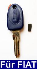 Auto Schlüssel Gehäuse mit Transponder für Fiat Punto Bravo Brava Coupe Marea