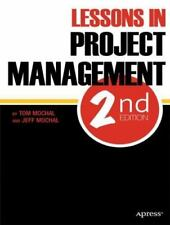 Lessons in Project Management (Paperback or Softback)