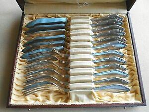 Wellner Mozart 12 Fischbesteck 90 Silber Silberbesteck Mozartmuster Fischmotiv