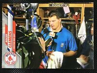 SP! 🚨 2020 Topps Image Photo Variation ROGER CLEMENS Rocket Red Sox #60